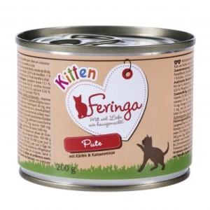 Sparpaket Feringa Menü Kitten 24 x 200 g - Huhn & Kalb