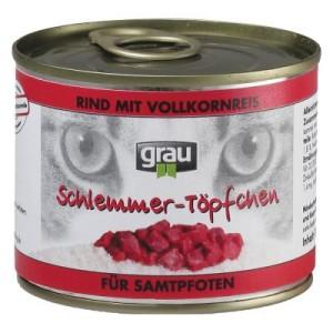 Sparpaket Grau Schlemmertöpfe 24 x 200 g - Mix