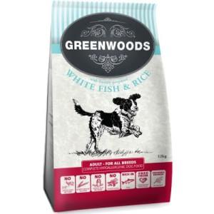 Sparpaket Greenwoods Adult 2 x 12 kg - Adult Fisch & Reis