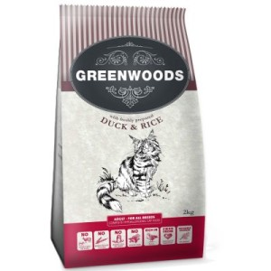 Sparpaket Greenwoods Adult 5 x 2 kg - Adult Ente