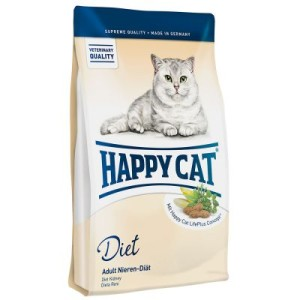 Sparpaket Happy Cat 2 x Gebinde - Adult Atlantik-Lachs (2 x 10kg)