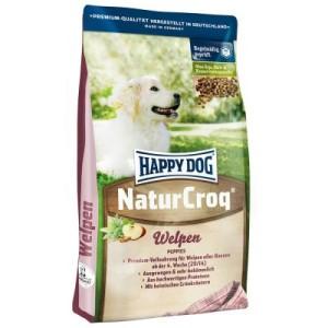 Sparpaket Happy Dog Natur 2 x Großgebinde - NaturCroq für Welpen (2 x 15 kg)