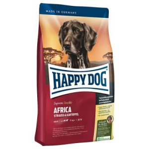 Sparpaket Happy Dog Supreme 2 x Großgebinde - Sensible Africa (2 x 12