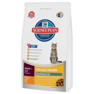 Sparpaket Hill's Feline 2 x Großgebinde - Mature Adult 7+ Hairball Control (3 x 1