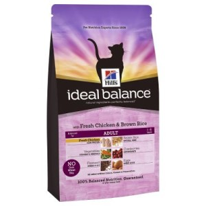 Sparpaket Hill's Feline Ideal Balance 2 x Großgebinde - Adult Huhn & Reis (2 x 4kg)