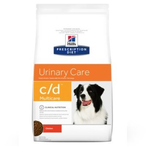Sparpaket Hill's Prescription Diet Canine 2 x Großgebinde - c/d Urinary Care (2 x 12 kg)