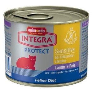 Sparpaket Integra Protect Sensitive 12 x 200 g - Pute & Reis