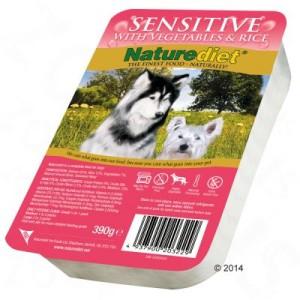 Sparpaket Naturediet 36 x 390 g - Senior/Lite: Kaninchen & Truthahn