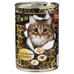 Sparpaket O´Canis for Cats 12 x 400 g - passende Dosendeckel (3er Set