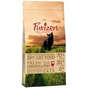 Sparpaket Purizon getreidefrei 2 x Kleingebinde - Kitten Huhn & Fisch (3 x 2