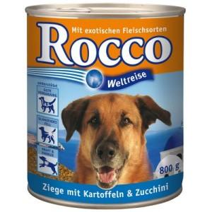 Sparpaket Rocco Weltreise: Griechenland 24 x 800 g - Ziege mit Kartoffeln und Zucchini