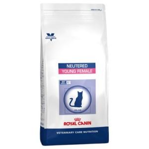 Sparpaket Royal Canin Vet Care Nutrition 2 x Großgebinde - Neutered Young Female für kastrierte Kätzinnen bis 7 Jahren (2 x 10 kg)