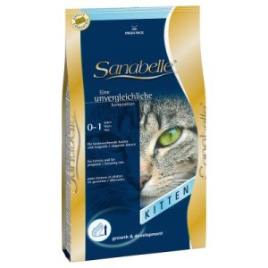 Sparpaket Sanabelle 2 x 10 kg - Sensitive mit Geflügel