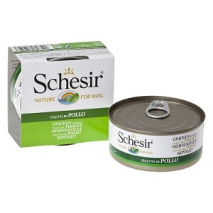 Sparpaket Schesir 24 x 150 g - Hühnchenfilets mit Schinken