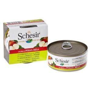 Sparpaket Schesir Fruit 24 x 150 g - Huhn mit Apfel