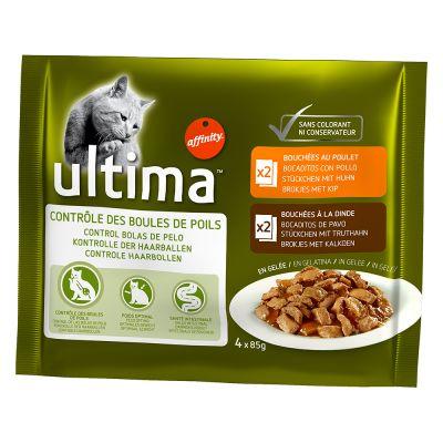 Sparpaket Ultima Cat 24 x 85 g - Urinary (Huhn & Lamm)