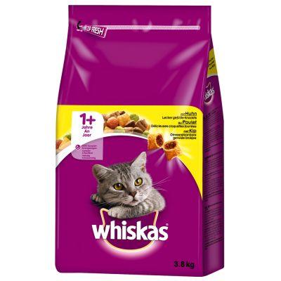 Sparpaket Whiskas 2 x Kleingebinde - 1+ Indoor Huhn (2 x 950 g)