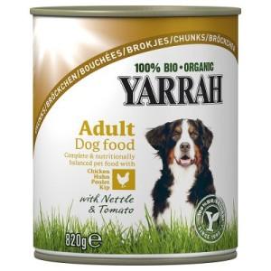 Sparpaket Yarrah Bio Bröckchen 12 x 820 g - Mix