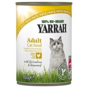 Sparpaket Yarrah Bio Pâté 24 x 400 g - Fisch