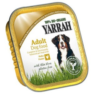 Sparpaket Yarrah Bio Schalen 18 x 150 g - Wellness Pâté: Huhn mit Meeresalgen