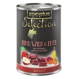 Sparpaket zooplus Selection 12 x 400 g - gemischtes Paket Junior