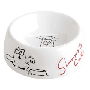 Sparset: Simon's Cat I - 2 x Simon's Cat Katzennapf aus Keramik