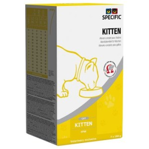 Specific Cat FPW Kitten - erhöhter Energiebedarf - 7 x 100 g