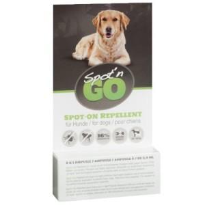 Spot'n Go Zeckenschutzmittel für Hunde - Sparpaket: 6 x 2