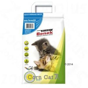 Super Benek Corn Cat Meeresbrise - Sparpaket: 3 x 7 l (ca. 15 kg)