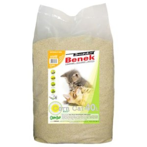 Super Benek Corn Cat Natural - 40 l (ca. 26