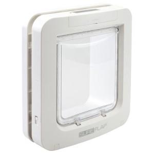 SureFlap Mikrochip Haustierklappe - Montageadapter für Glasscheiben weiß