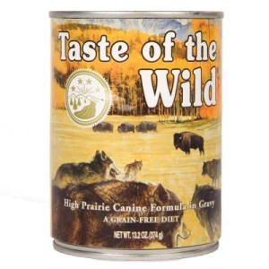 Taste of the Wild - High Prairie Canine - 6 x 374 g