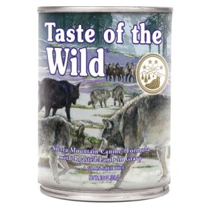Taste of the Wild - Sierra Mountain Canine - 12 x 374 g