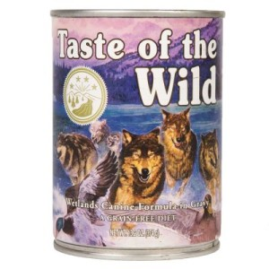 Taste of the Wild - Wetlands Canine - 6 x 374 g
