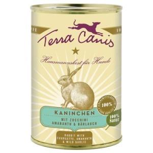 Terra Canis 6 x 400 g - Kaninchen mit Zucchini