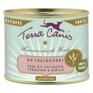 Terra Canis Getreidefrei 6 x 200 g - Huhn mit Pastinaken