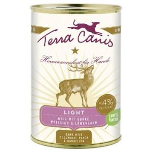 Terra Canis Light 1 x 400 g - Rind mit Kürbis