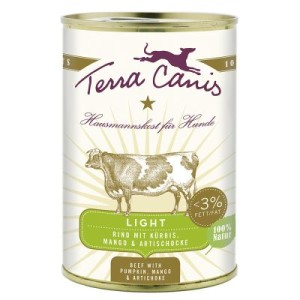 Terra Canis Light 6 x 400 g - Pute mit Sellerie