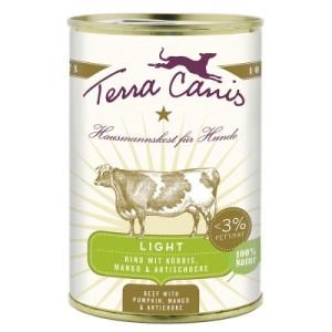 Terra Canis Light 6 x 400 g - Wild mit Gurke