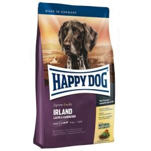 Testpaket Happy Dog Irland Trocken- & Nassfutter und Snack - 4 kg + 3 x 400 g + 6 x 10 g