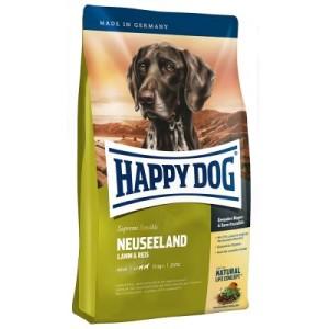 Testpaket Happy Dog Neuseeland Trocken- & Nassfutter & Snack - 4 kg + 3 x 400 g + 6 x 10 g