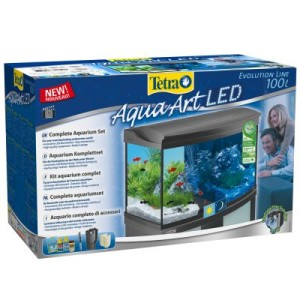 Tetra AquaArt Evolution Line LED Aquarium-Komplett-Set 100L - Maße: L 77 x B 38 x H 48
