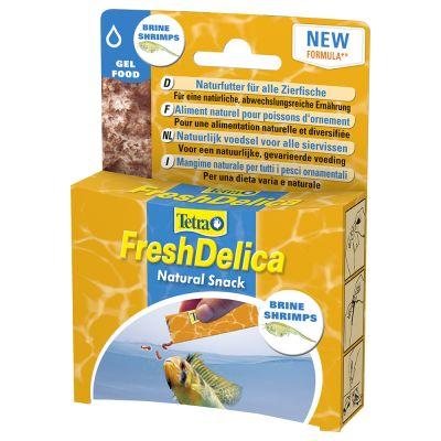 Tetra FreshDelica Gelee - Rote Mückenlarven (48 g)