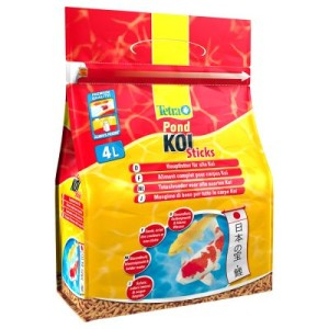 TetraPond Koi Sticks - 2 x 4000 ml