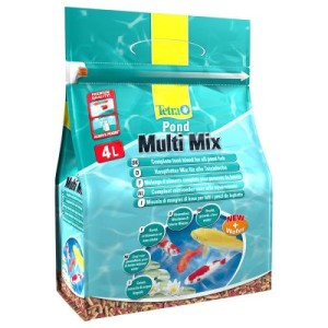 TetraPond Teichfischfutter Multi Mix - 4000 ml