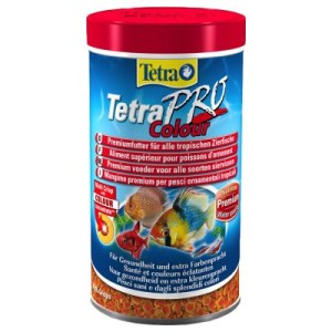 TetraPro Colour Flockenfutter - 500 ml