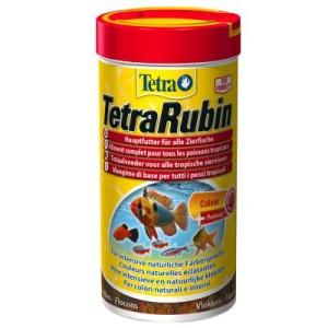 TetraRubin Flockenfutter - 2 x 250 ml