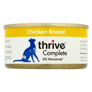 Thrive Complete 6 x 75 g - Hühnerbrust & Leber