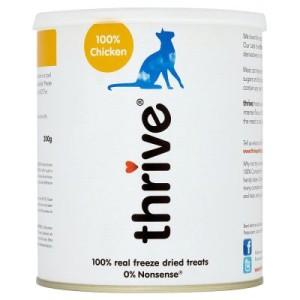 Thrive! Gefriergetrocknete Katzensnacks Maxi Tube Huhn - 200 g