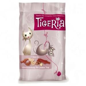 Tigeria 7 Snacks - Snacks für jeden Tag - Wochenpackung 35 g (7 verschiedene Snacks)